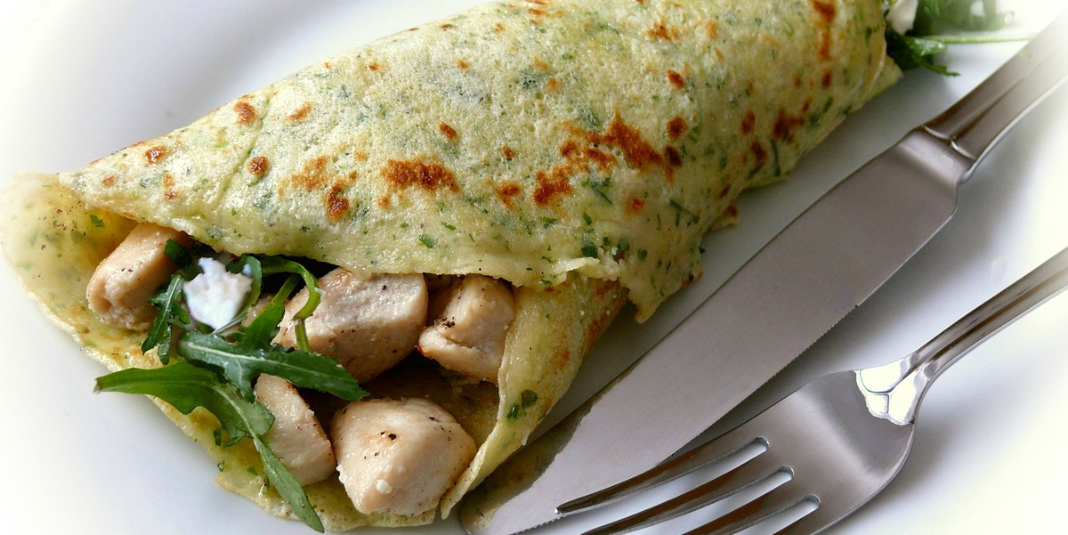 Chicken Breast Omelet