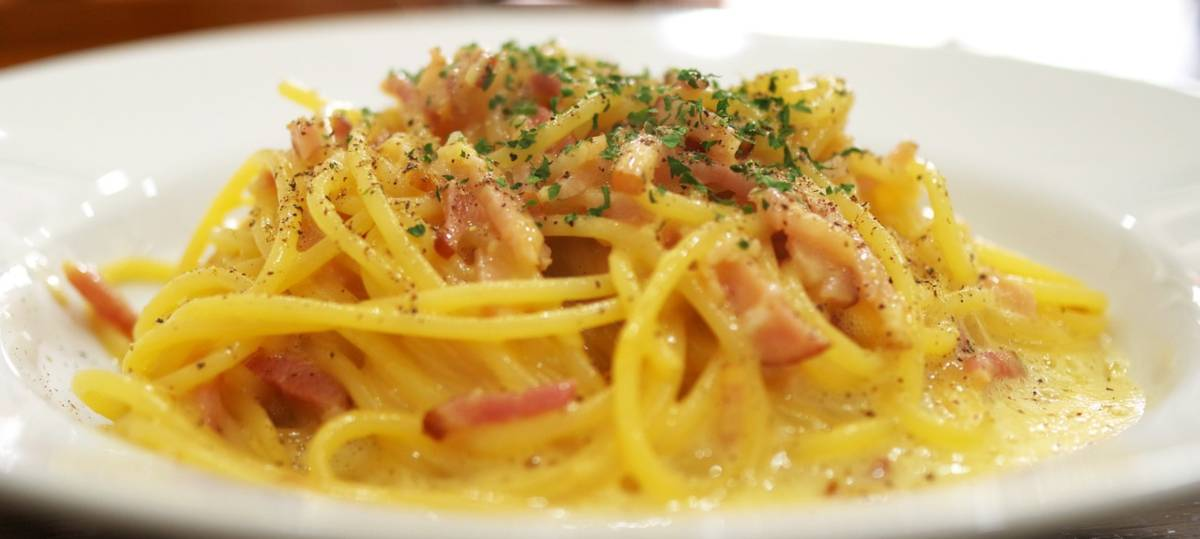 Shirataki Carbonara