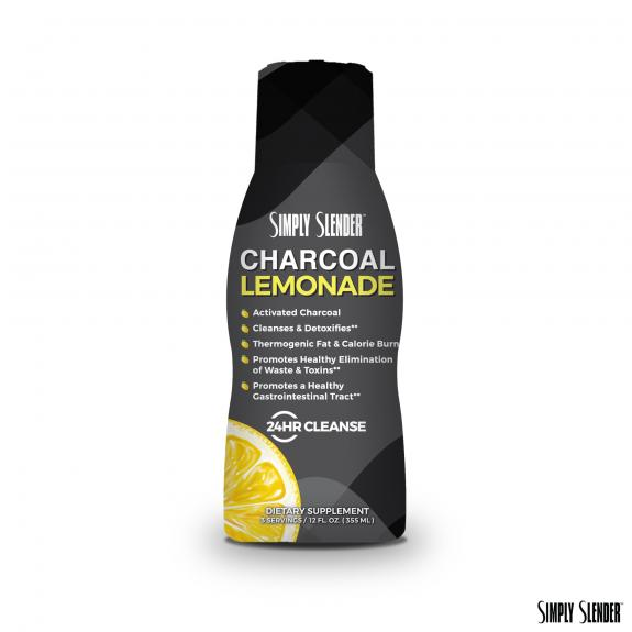 Simply Slender Charcoal Lemonade
